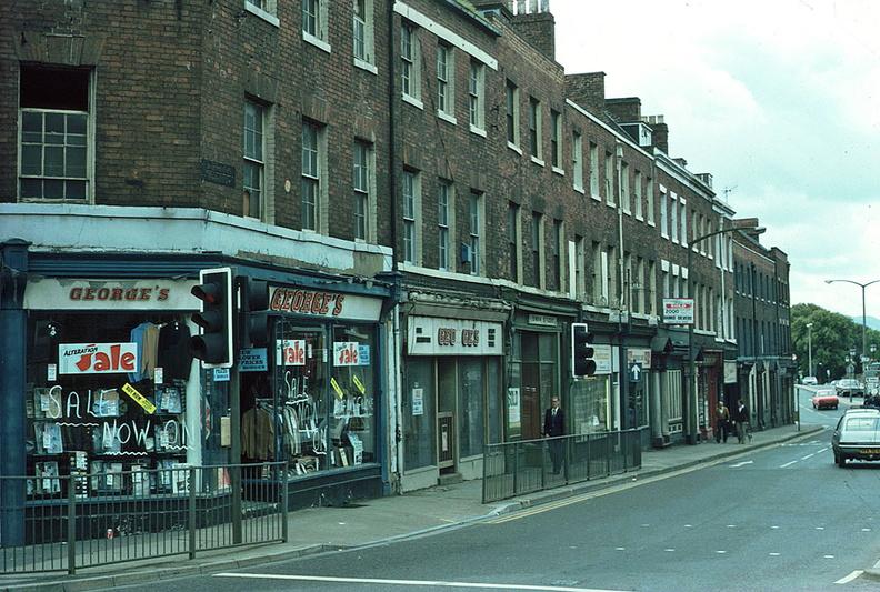 Bridge Street Stores >> Bridge Street View To West July 1980 J0904031e19 The