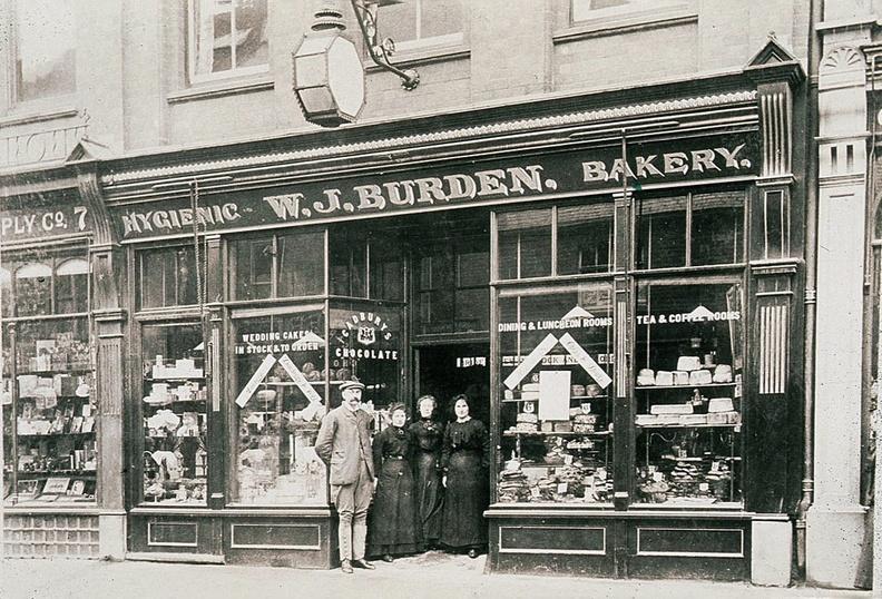Burdens Bakery Shop Front Old Photo J1111202E41